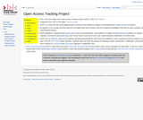 Open Access Tracking Project