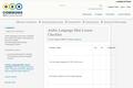 Arabic Language Mini Lesson Checklist
