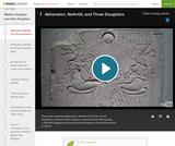 House Altar with Akhenaten, Nefertiti and Three Daughters