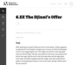 The DjinniŐs Offer