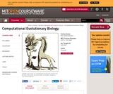 Computational Evolutionary Biology, Fall 2005