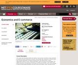 Economics and E-commerce, Fall 2014