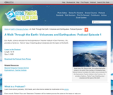 A Walk Through the Earth: Volcanoes and Earthquakes (Beyond Penguins and Polar Bears Episode 1)