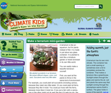 Climate Kids: Make a Terrarium Mini-garden