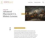 Advanced Placement U.S. History Lessons