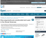 How Arguments are Constructed and Used in the Social Sciences