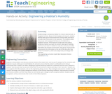 Engineering a Habitat's Humidity