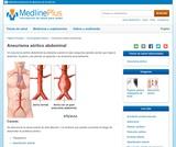 Abdominal Aortic Aneurysm (Spanish)