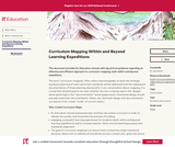 Curriculum Mapping Within and Beyond Learning Expeditions