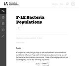 التجمعات البكتيرية
