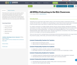 AR SPELL Podcasting in the ELL Classroom