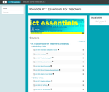 ICT Essentials for Teachers Course