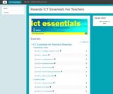 ICT Essentials for Teachers Course