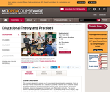 Educational Theory and Practice I, Fall 2011