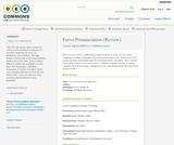 Forvo Pronunciation (Review)