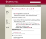 Internet Ancient History Sourcebook