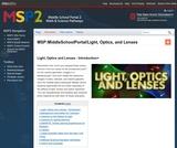 Light, optics and lenses