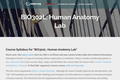 Human Anatomy - Laboratory
