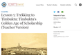 Lesson 5: Trekking to Timbuktu: Timbuktu's Golden Age of Scholarship (Teacher Version)
