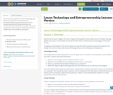 Learn: Technology and Entrepreneurship Learner Version