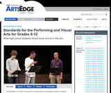 Standards for the Performing and Visual Arts for Grades 9-12