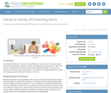 Pill Dissolving Demo