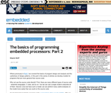 The Basics of Programming Embedded Processors: Part 2
