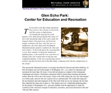 Glen Echo Park: Center for Education and Recreation