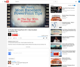 At The Bar With PowerPoint 2013 - Most Excellent PowerPoint Tips