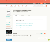 The Pythagorean Formula Mini-Flexbook