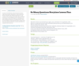 So Many Questions Storytime Lesson Plan