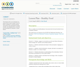 Lesson Plan - Healthy Food