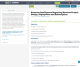 Business Intelligence Reporting Services Project: Design, Deployment and Subscription