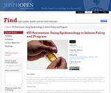 STI Prevention: Using Epidemiology to Inform Policy and Program