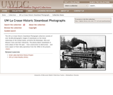 The UW-La Crosse Steamboat Collection