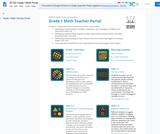 SFUSD Grade 1 Math Portal