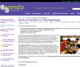 Minds-On Activities for Teaching Biology