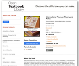 International Finance: Theory and Policy