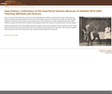 Collections of the Iowa Rural Schools Museum of Odebolt 1870-1950 - Teaching Methods and Devices