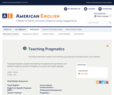 Teaching Pragmatics