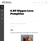 6.RP Hippos Love Pumpkins