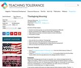 Thanksgiving Mourning