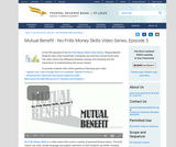 Mutual Benefit - No-Frills Money Skills Video Series, Episode 5