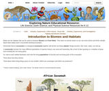 Introduction to Biomes and Habitats