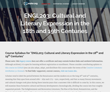 Cultural and Literary Expression in the 18th and 19th Centuries
