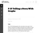 Telling a Story with Graphs