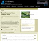 Rural Communities: Legacy & Change