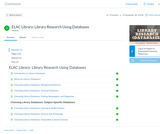 ELAC Library: Library Research Using Databases