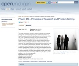 Principles of Research and Problem Solving