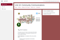 Kenya ICT CFT Course: Community Communications